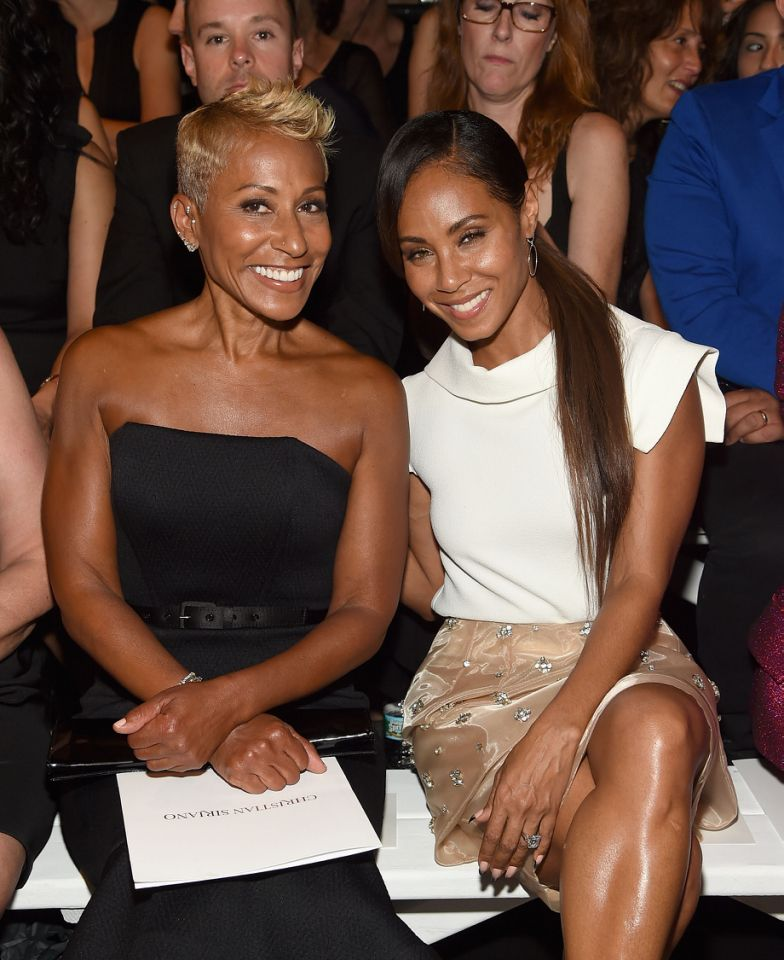 Adrienne Banfield-Norris, left, and daughter Jada Pinkett Smith. (Photo: Getty Images)