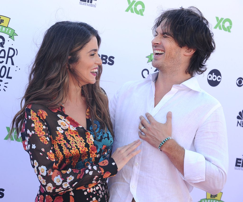 Nikki Reed and Ian Somerhalder Are Whole Smiles in First ...
