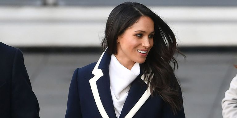 American Actress Meghan Markle Formation Rare Fashion Faux Pas With J. Crew Coat