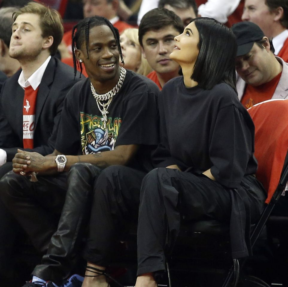 Kylie Jenner and Travis Scott's