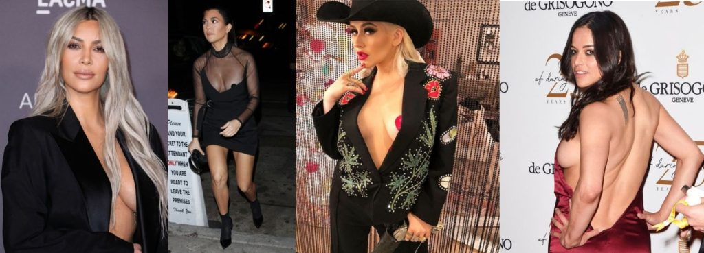 Celebrity Wardrobe Whoopsies: On Purpose, or an Accident?