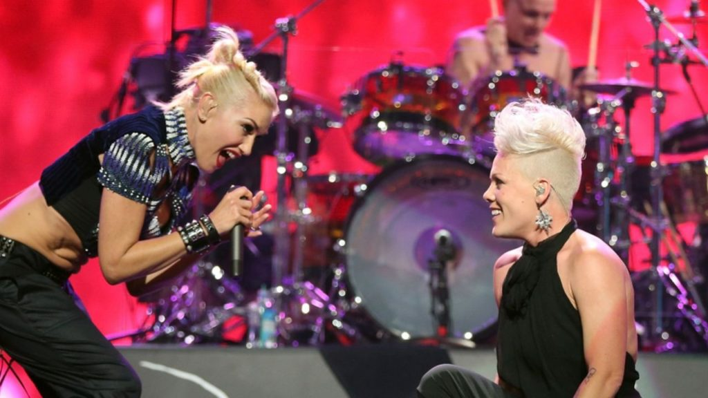 Pink joined Stefani and her band
