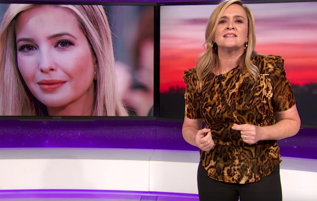 "Samantha Bee Apologized ""Sally"" on Ivanka Trump was ""Vile and Vicious"""