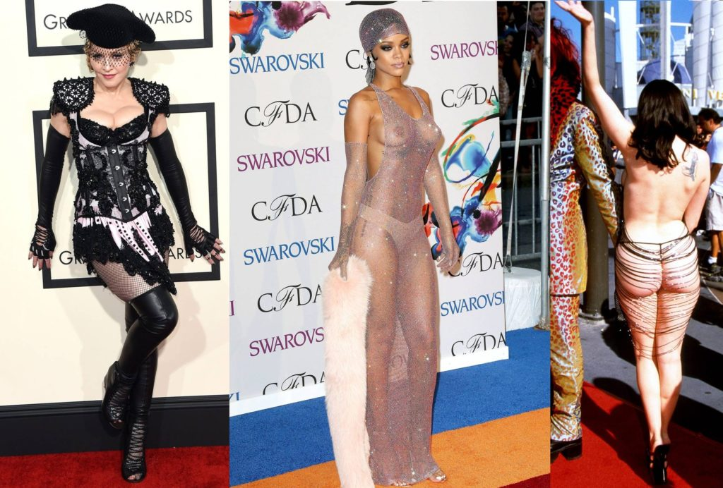 The Most Controversial Woman Dresses On The Red Carpet