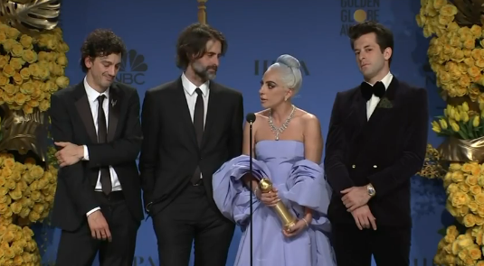 "Singer Lady Gaga has ""rager"" after the Golden Globes"